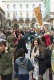 2nd centro storico ` s karnawał w Naples 2017 Fotografia Stock