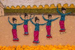 42nd Chiang Mai kwiatu festiwal zdjęcie royalty free