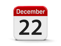 22nd December Royalty Free Stock Images