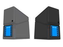 ND dei server 3D Immagine Stock Libera da Diritti