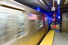 72nd estação de metro da rua Imagens de Stock