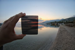 The nd filter views Stock Photo