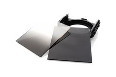 ND Filters. Closeup ND filters, Photography equipment royalty free stock image