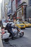 42nd gata i New York City Fotografering för Bildbyråer