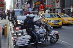 42nd gata i New York City Royaltyfri Bild