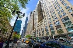 42nd gata, Manhattan, New York City Royaltyfri Fotografi