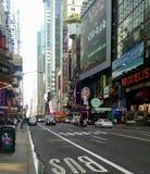 42nd gata New York, NY Fotografering för Bildbyråer