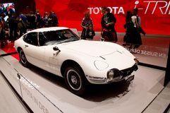 Toyota 2000GT at Geneva 2017 Royalty Free Stock Images