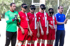 2nd IBSA Euro Challenge Cup and Thessaloniki International Blind Royalty Free Stock Photography