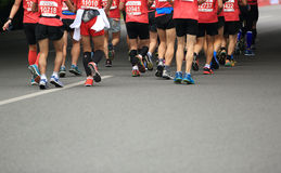 The 2nd International Marathon runners Royalty Free Stock Photography