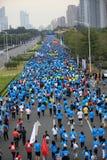 The 2nd International Marathon runners Stock Photo
