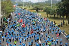 The 2nd International Marathon runners Royalty Free Stock Photo