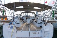 32nd internationella Istanbul Boatshow Arkivfoto
