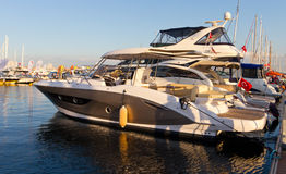 32nd internationella Istanbul Boatshow Royaltyfria Bilder