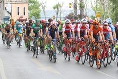 52nd presidents- cykla turnerar av Turkiet Arkivfoto