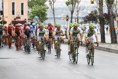 52nd presidents- cykla turnerar av Turkiet Arkivbild