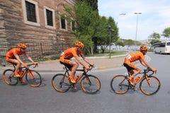 52nd presidents- cykla turnerar av Turkiet Royaltyfri Foto