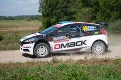 73nd Rally Poland, Mikolajki, Poland Stock Images