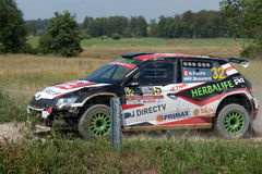 73nd Rally Poland, Mikolajki, Poland Stock Images