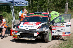 73nd Rally Poland, Mikolajki, Poland Royalty Free Stock Photography