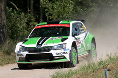 73nd Rally Poland, Mikolajki, Poland Stock Image