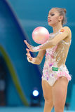 32nd Rhythmic Gymnastics World Championship Stock Images