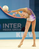 32nd Rhythmic Gymnastics World Championship Royalty Free Stock Photos