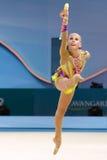 32nd Rhythmic Gymnastics World Championship Stock Photography