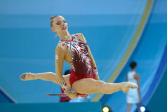 32nd Rhythmic Gymnastics World Championships Stock Photography
