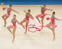 32nd Rhythmic Gymnastics World Championships Royalty Free Stock Photo