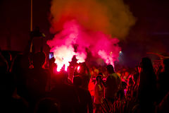 92nd roku Rocznicowy świętowanie Goztepe sporta klub Zdjęcie Royalty Free