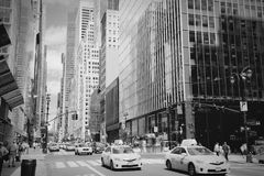 42nd rua Imagens de Stock Royalty Free