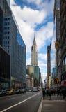42nd rua em Manhattan - New York, EUA Imagem de Stock Royalty Free