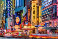42nd Rua, New York City Imagem de Stock