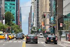 42nd rua, NY Fotos de Stock Royalty Free