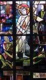 2nd stacjom krzyż, Jezus dają jego krzyżowi Obrazy Royalty Free