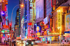 42nd Street New York City Royalty Free Stock Photography