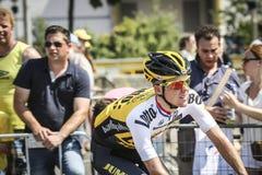 102nd Tour de France - experimentação do tempo - primeira fase Fotografia de Stock