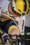 102nd Tour de France - experimentação do tempo - primeira fase Foto de Stock Royalty Free