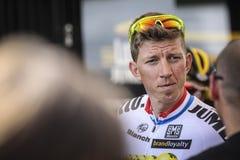 102nd Tour de France - procès de temps - première phase Photographie stock libre de droits