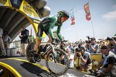 102nd Tour de France - procès de temps - première phase Photos stock