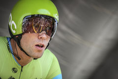 102nd Tour de France - procès de temps - première phase Photos libres de droits