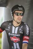 102nd Tour de France - procès de temps - première phase Image libre de droits