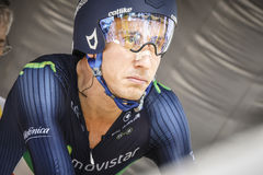 102nd Tour de France - procès de temps - première phase photo stock