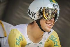 102nd Tour de France - prova a cronometro - prima fase Immagini Stock Libere da Diritti