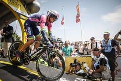 102nd Tour de France - prova a cronometro - prima fase Fotografia Stock