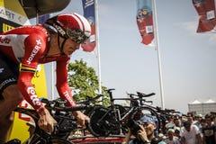 102nd Tour de France - prova a cronometro - prima fase Immagini Stock