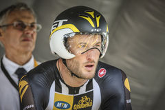 102nd Tour de France - prova a cronometro - prima fase Fotografie Stock Libere da Diritti