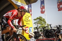 102nd Tour de France - Time Trial - First Stage Royalty Free Stock Images