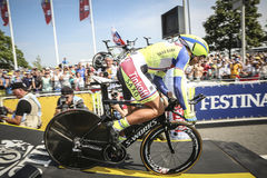 102nd Tour de France - Time Trial - First Stage Royalty Free Stock Image